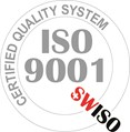ISO 9001 Certified by SWISO